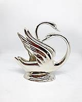 Салфетница посеребренная MCA Vizyon в форме лебедя, фото 1