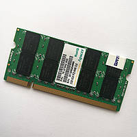 Оперативная память для ноутбука Apacer SODIMM DDR2 2Gb 800MHz 6400 CL6 (75.A73AZ.G00) Б/У, фото 1