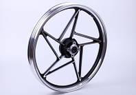 Колесо переднее литое, дисковый тормоз (black) - СВ-125/150