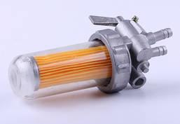 Кран топливный (стакан пластиковый) - 190N