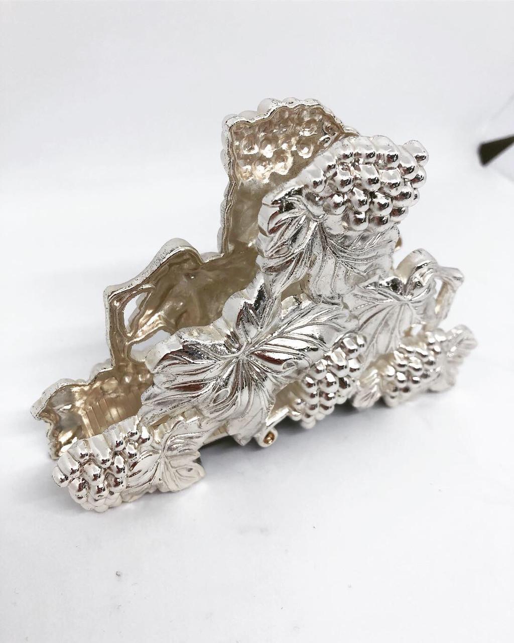 Салфетница из мельхиора с посеребрением M Vizyon в форме цветов
