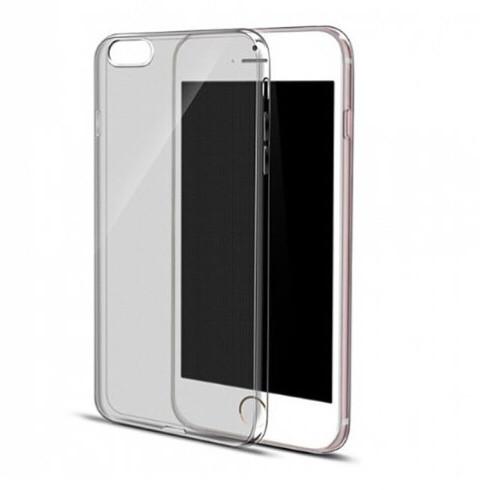 Силиконовый чехол накладка 0,3 мм для iPhone 6+/6s+ - серый