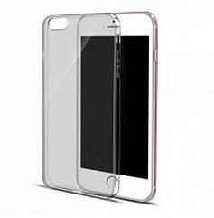 Силиконовый  чехол накладка 0,3 мм для iPhone 7/8 - серый