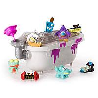 Набор  монстриков «Странная ванна » Flush Force Bizarre Bathtub   8 шт в наборе., фото 1