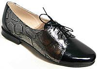 Туфли кожаные женские большие размеры от производителя МИ3544-17-2