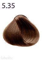 Краска для волос Expert, тон «5.35. Светлый каштан шоколадный фаберлик