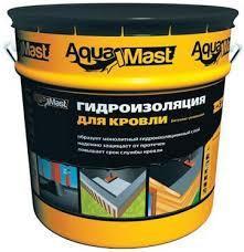 Мастика AquaMast для кровли (битумно-резиновая)18кг)