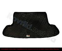 Пластиковый коврик в багажник Hyundai Santa Fe(2006-) (7-мест) верхняя полка, Lada Locker