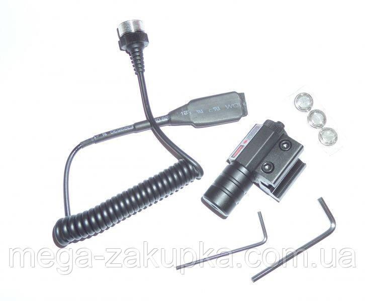 Лазерный целеуказатель Красный луч, для пистолета и винтовки