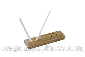 Точилка для керамических ножей, + бамбуковая подставка