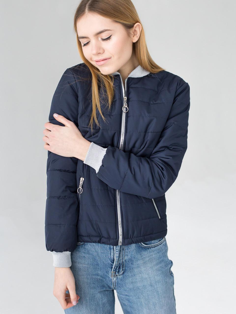 Куртка Мира 0467_2 тёмно синий