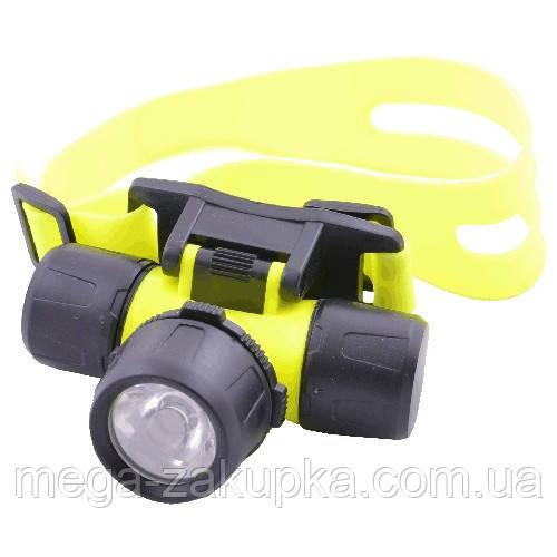Підводний ліхтар 6800-LM на лоб, зручний і практичний