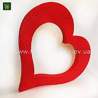 Сердце из пенопласта -50 см
