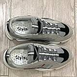 37,38,39 Жіночі кросівки весняні сітка м'які і зручні, фото 3