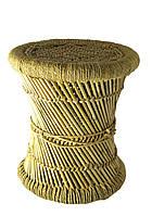 Табурет плетеный (36х36х42 см) Индия