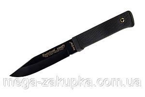Нож Каратель с пластиковым чехлом и резиновою рукоятью