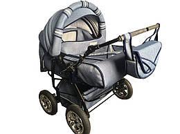 Универсальная коляска-трансформер Taurus Duo LEN джинс (таурус дуо)