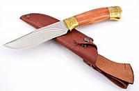 Нож охотничий Зевс с кожаным чехлом + эксклюзивные фото, фото 1