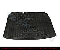 Поліуретановий килимок в багажник Mitsubishi Outlander XL(2007-2012) без сабвуфера, Avto-Gumm