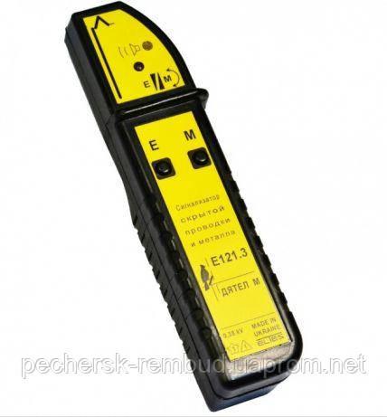 Металлоискатель+сигнализатор скрытой проводки Дятел-М Е-121.3