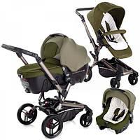 Детская коляска универсальная 3 в 1 Jane Rider Strata Transporter 2 Woods , цвет темно зеленый (5457/S91)
