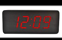 Часы настольные  с красной подсветкой VST-865-1