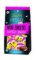 Шоколадные конфеты Lindt Hello Xmas Mini Emotis