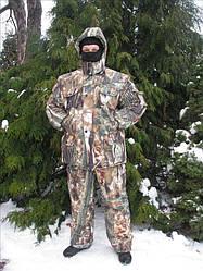"""Зимний костюм для рыбалки и охоты """"Лес"""" -30"""