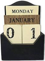 """Вечный календарь """"Классика """" Размер: 15-10-6 см."""