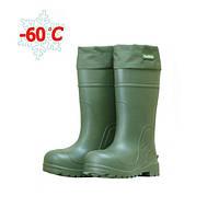 Зимние сапоги ПСКОВ для суровых экстремальных климатических условий, удлиненные, - 60С, супер теплые, фото 1