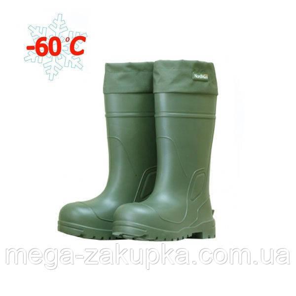 Зимові чоботи ПСКОВ для суворих екстремальних кліматичних умов, подовжені, - 60С, супер теплі