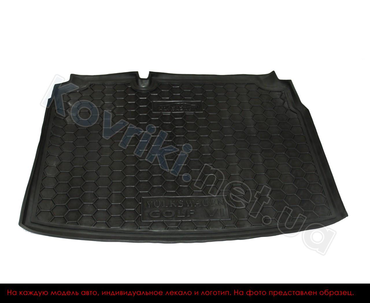 Полиуретановый коврик в багажник Volkswagen Transporter T5 Caravelle(2010-) длин.без печки, Avto-Gumm