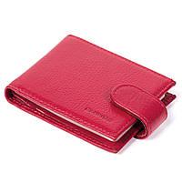 Кошелек кредитница Eminsa 1516-12-5 кожаный красный