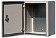 Бокс монтажный герметичный 800-550-250 IP54 уличный металлический навесной с монтажной панелью, 2 замка, фото 7