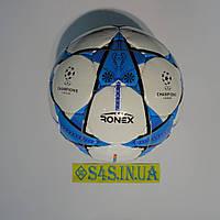 Мяч футбольный DXN Ronex FN1, синий, р.5, ламинированный, фото 1
