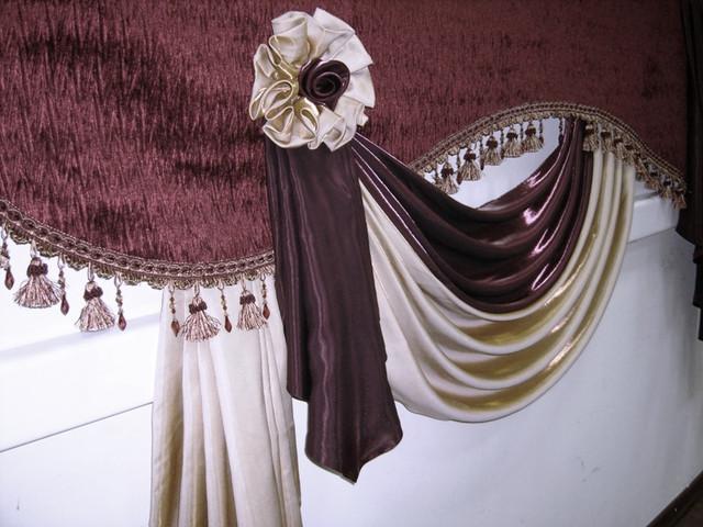 Красивые шторы. Выбираем отделку. Как выбрать и купить ткань для штор в интернете