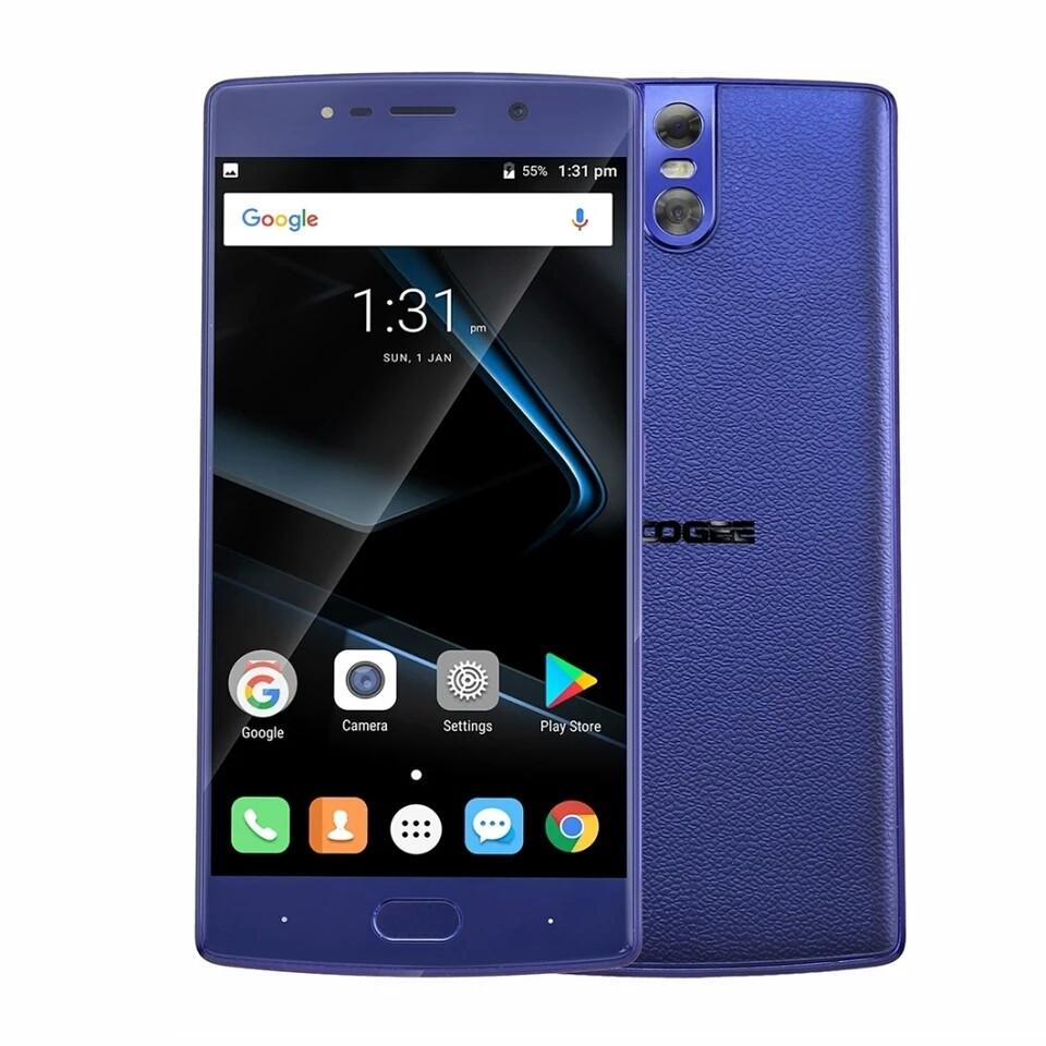 Смартфон Doogee BL7000 Blue 4/64gb 7000mah+чехол+пленка в наличии