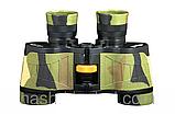 Охотничий бинокль с мощной оптикой 7х32 кратностью, + кожаный чехол, подарок для туриста, фото 3