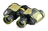 Охотничий бинокль с мощной оптикой 7х32 кратностью, + кожаный чехол, подарок для туриста, фото 4