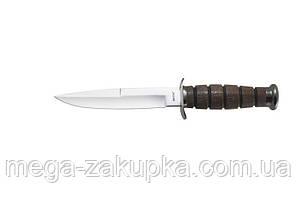 Нож нескладной Финка НКВД СССР, упор под палец
