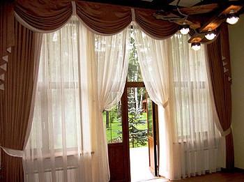 Красивые шторы. Выбираем отделку