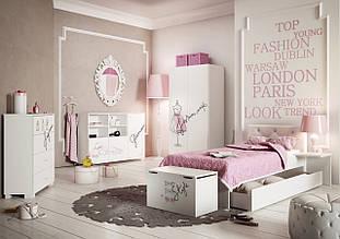 """Комплект мебели для девочки """"Fashion Pink"""", Meblik (Польша)"""