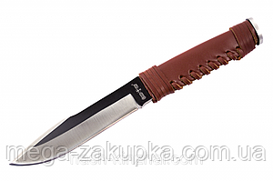 Нож польской разведки , цельный клинок, пластиковый чехол в комплекте + экспертиза