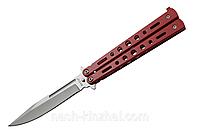 Нож балисонг для флиппинга, бритвенная заточка, отличное качество