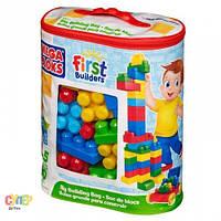 Конструктор Mega Bloks First Builders классический 80 дет., Mega Bloks, DCH63