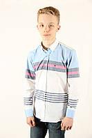 Рубашка мужская Tommy Hilfiger 0403406 светлый Размеры XXL