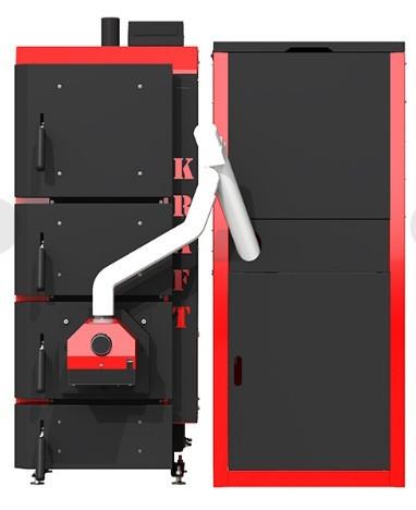Пеллетный котел Kraft серия F 30 кВт ( Крафт )