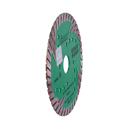 Круг алмазный отрезной 1A1R Turbo 125x2,4x10x22,23 z4 Elite Duo, фото 2