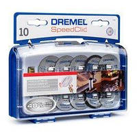 Комплект насадок Speed Clic Dremel (SC690)