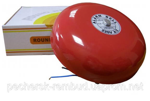 Звонок громкого боя EBL-2004 (CB-8) красный, фото 2